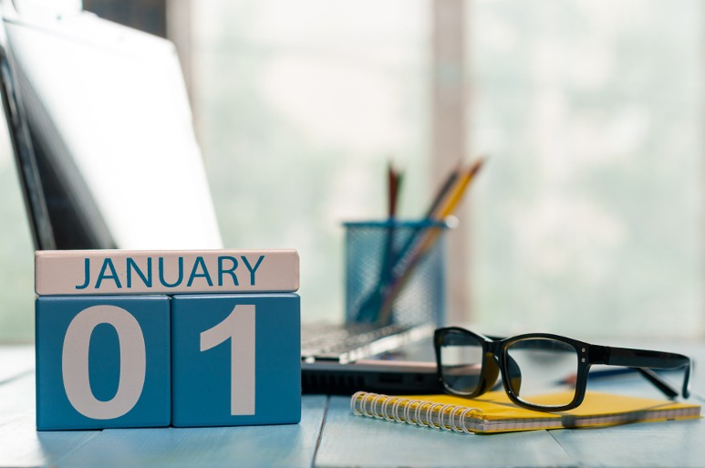 January 1 is the time of new year resolutions