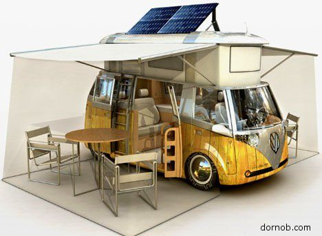 Eco Retro VW Trailer