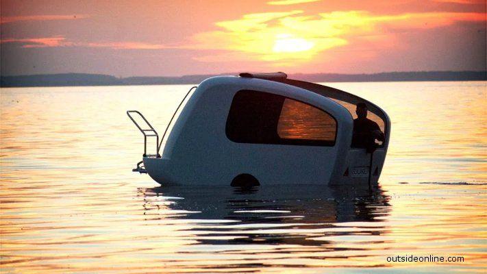 Sealander camper boat