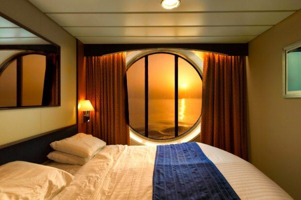 Boat bed with mattress
