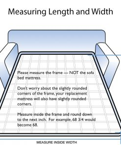 How to Measure Sofa Bed Mattress Dimensions